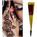 La llegada de la Alta Calidad Mini Pasta de Henna Natural Indio Del Tatuaje para el Cuerpo Dibujo Negro Henna