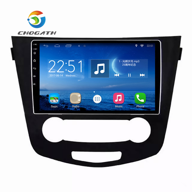 ChoGath 9 '' 1.6GHz Quad Core Android 7.1 Automašīnas radio - Auto Elektronika