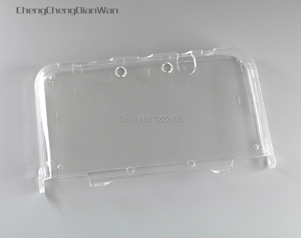 1PCS Transparent Hard Clear Case Protective Cover Shell for NEW 3DS XL/LL New 3DSXL 3DSLL Crystal Protector