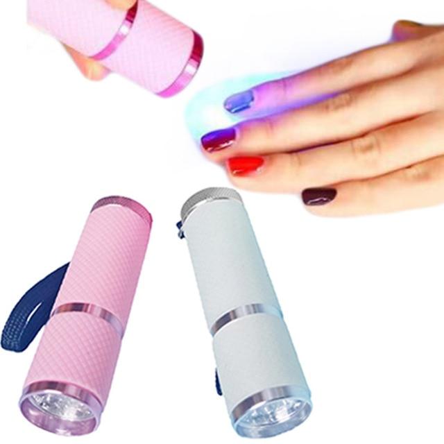 Mini led nail lamp portable nail dryer manicure beauty salon mini led nail lamp portable nail dryer manicure beauty salon equipment diy gel nail art polish solutioingenieria Image collections