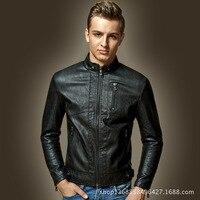 Pu Men Leather Jacket Veste Homme Coat Autumn Mens Jackets And Coats Manteau Homme Abrigos Y Chaquetas Hombre Hot Sale #004