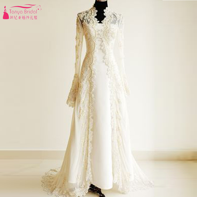 Lace Wedding Dress with Jacket