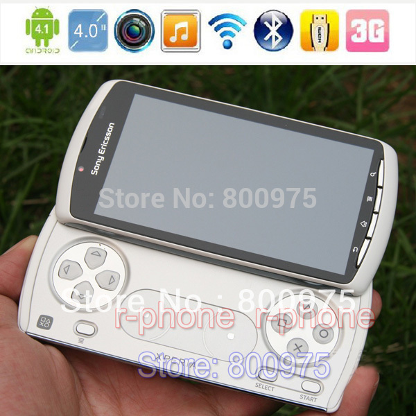 R800i Original Sony Ericsson Xperia PLAY Z1i R800 Mobile phone Unlocked Game Smartphone 3G 5MP Wifii