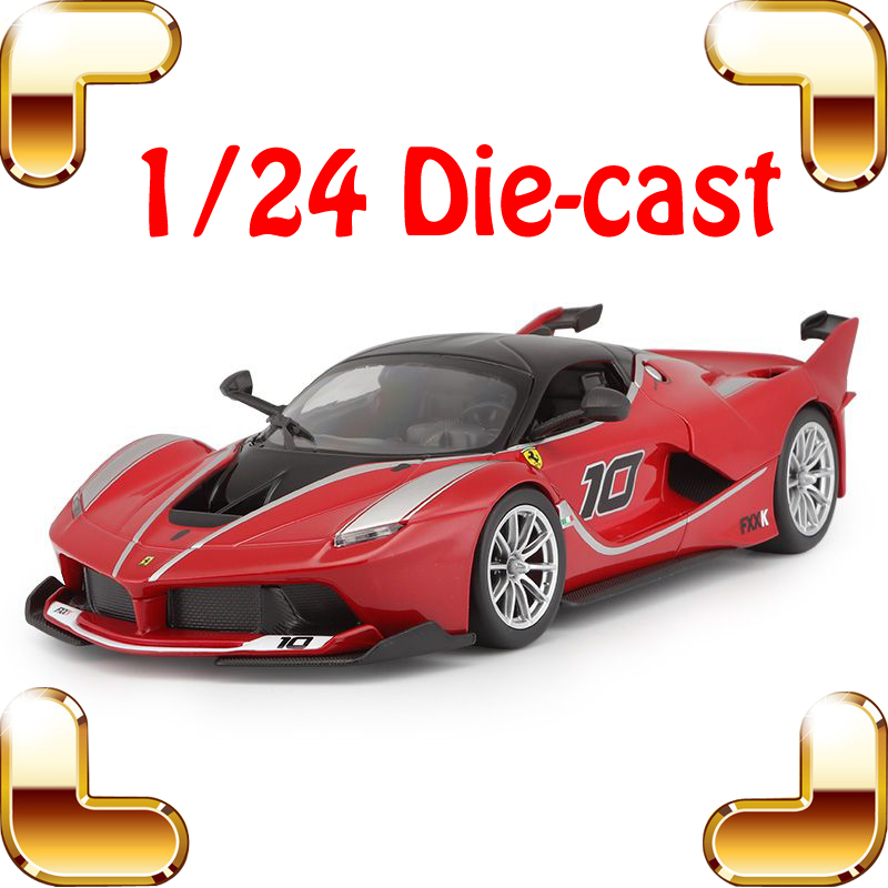 New Year Gift FXXK Limited Version 1 24 Model Alloy Car Collectible Static Simulation Vehicle Model