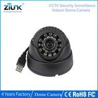 CCTV Dome Camera 420TVL Night Vision 24 IR LED Micro TF SD Card Recording Home Security