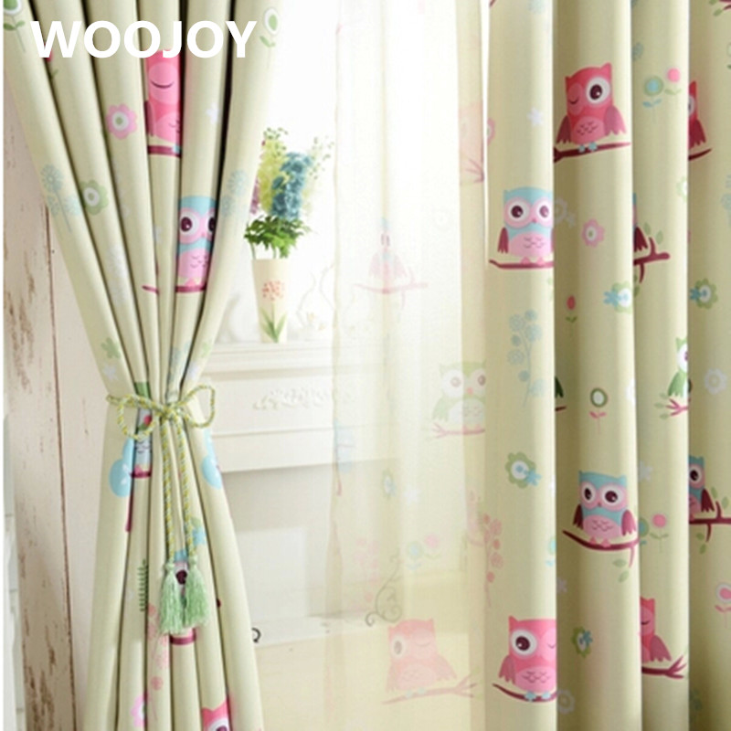 kids room curtains owl curtains for baby room window