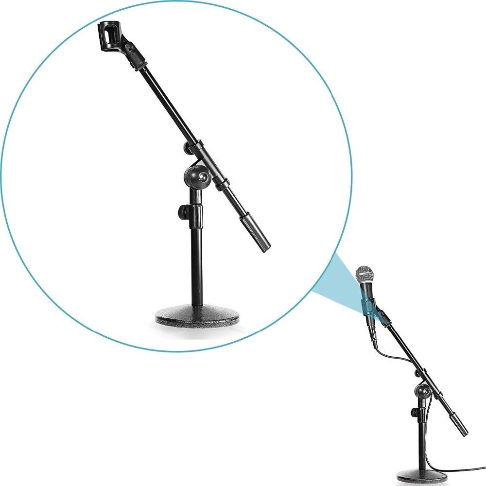 Neewer Nw210 Sturdy Mini Microphone Stand With Heavy Duty