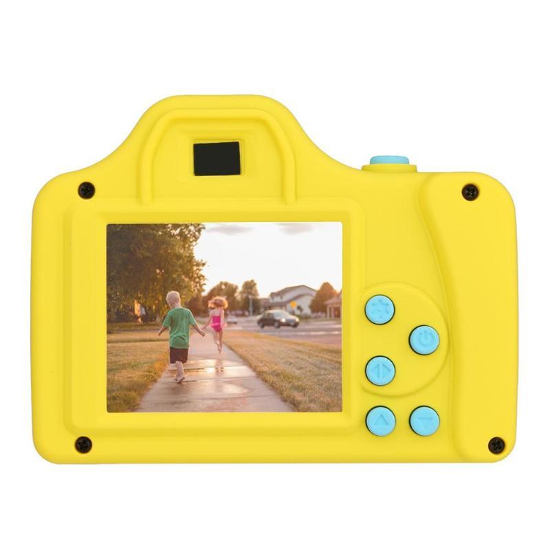 1.77 pouces 32 GB enfant appareil photo numérique jouet enfants couleur Mini LSR bande dessinée caméscope enregistreur vidéo Support TF carte pour enfants cadeaux