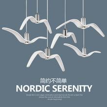 Nordic творческая личность дизайнер отель клуб кафе ресторан бар магазин одежды Чайка люстра