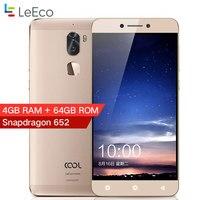 Original Letv Cool 1 Dual Leeco Coolpad Cool1 Fingerprint ID Mobile Phone 4GB RAM 64GB 5