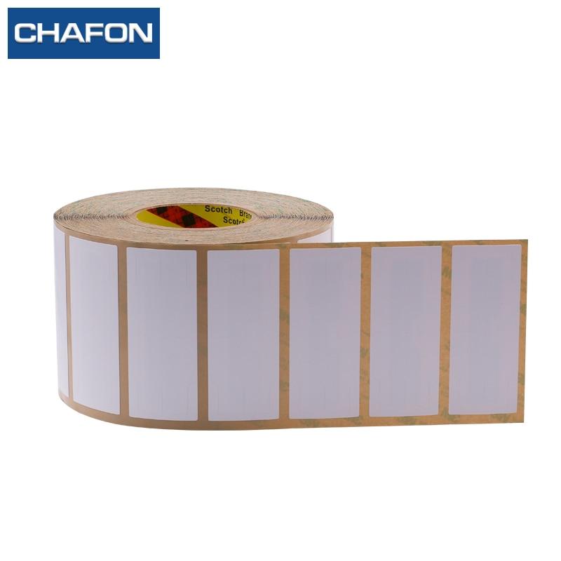 CHAFON 100pcs 1 15m 860 960Mhz EPC Gen2 windshield rfid tag Alien H3 chip with 3m