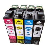 4PK cartucho de tinta para Impressora EPSON Compatível XP 332a 325a 36XL T3691 T3692 T3693 T3694
