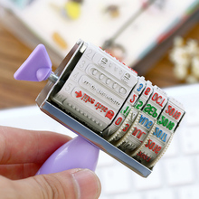 1 x  cute Cocoa Kingdom roller stamp DIY  date stamps for scrapbooking