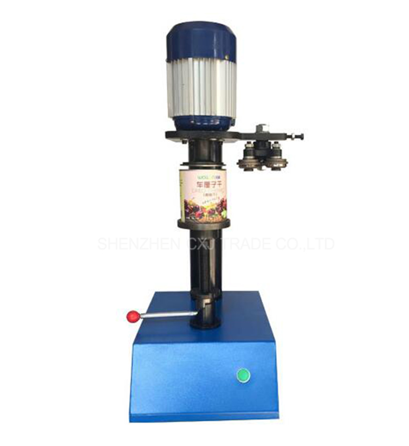 Free shippingElectric PET can sealing machine in tin cans plastic canned food jar capper can capping machine  цены