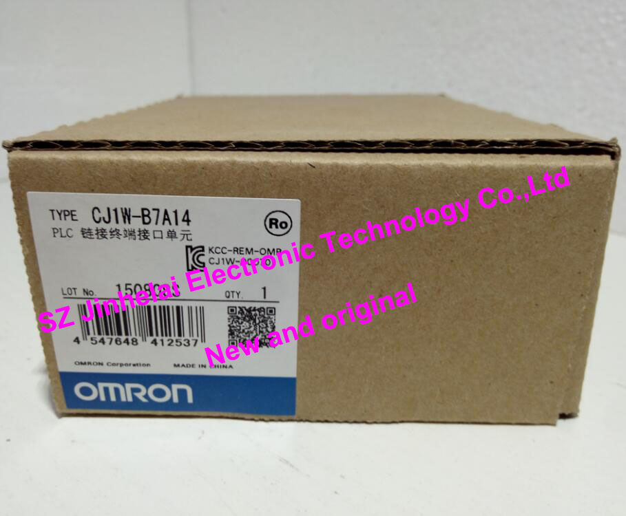 CJ1W-B7A14 New and original OMRON PLC Link terminal interface unit [zob] 100% new original omron omron proximity switch e2e x10d1 n 2m