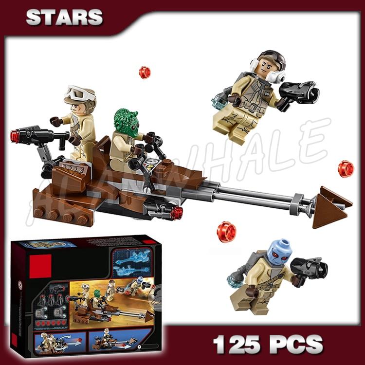 Active 125pcs New Space Wars Rebel Alliance Battle Pack Model Building Kit 10572 3d Blocks Movie Sets Children Toy Compatible With Lego Nourishing Blood And Adjusting Spirit Model Building Toys & Hobbies