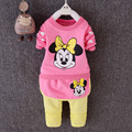 2016 New baby girl clothing set high quality girls clothing sets newborn baby girls clothes suit fashion tops + pants