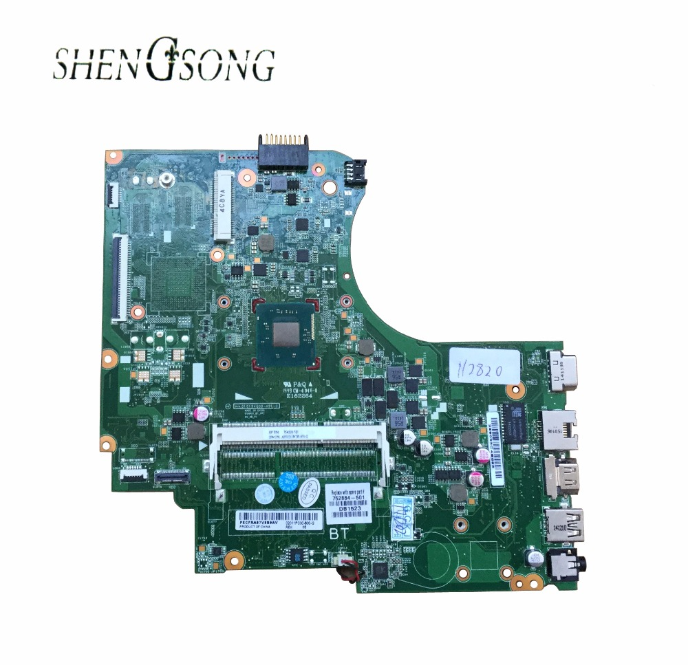 752884-501 Free Shipping 752884-001 FOR HP 14-D 240 G2 246 G2 Laptop Motherboard P/N 010194Q00-35K-G N2820 Mainboard