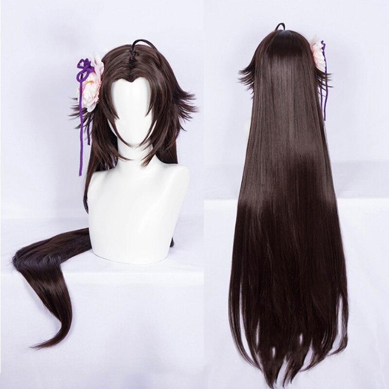 Аниме сад грешников голова Косплей парики Ryougi Косплей Shiki парик искусственные волосы для париков Хэллоуин вечерние Kara no Kyoukai парик