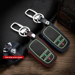 Image 4 - De fibra de carbono coche estilo de Auto protección clave Shell caso de la cubierta para Audi A3 8L 8 P A4 B6 B7 b8 A6 C5 C6 4F RS3 Q3 Q7 TT 8L 8 V S3