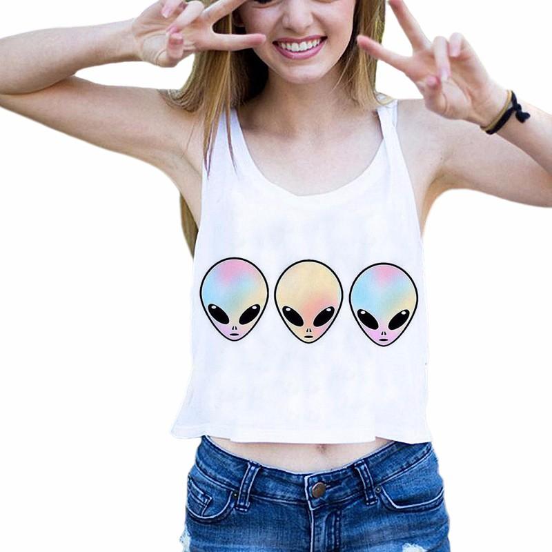 HTB1aIluQFXXXXcOXVXXq6xXFXXXC - Aliens Harajuku Emoji Crop Tops BFF girlfiend gift ideas