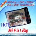 O envio gratuito de NOVA CAIXA DE ATF atf 4 EM 1 Final JTAG/EMMC/ISP/MMC Adaptador