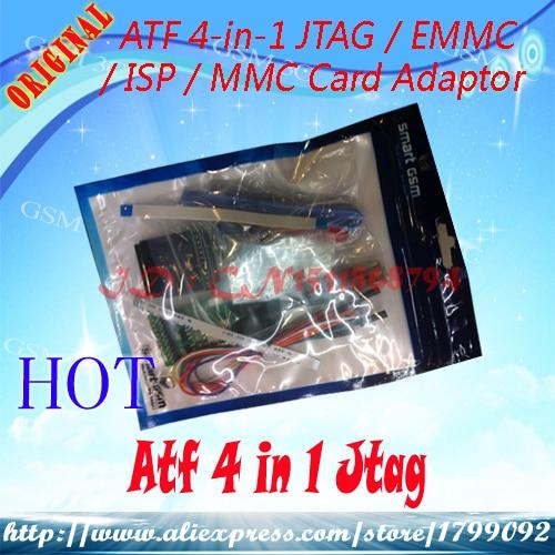 Communication Equipments Beautiful Free Shipping New Atf Box Atf 4 In 1 Ultimate Jtag/emmc/isp/mmc Adaptor Regular Tea Drinking Improves Your Health Telecom Parts