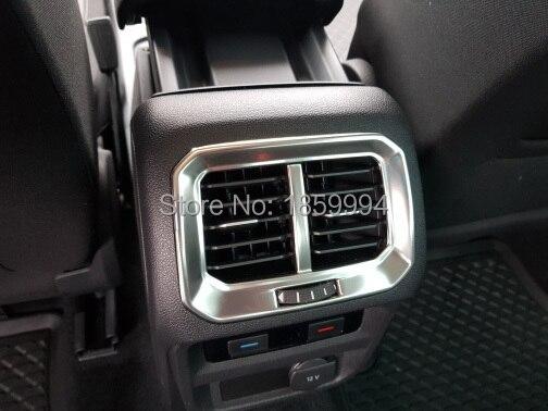 FOR 2016 2017 2018 VW Tiguan Mk2 Rear Air Outlet Cover Trim Interior Decoration Matte