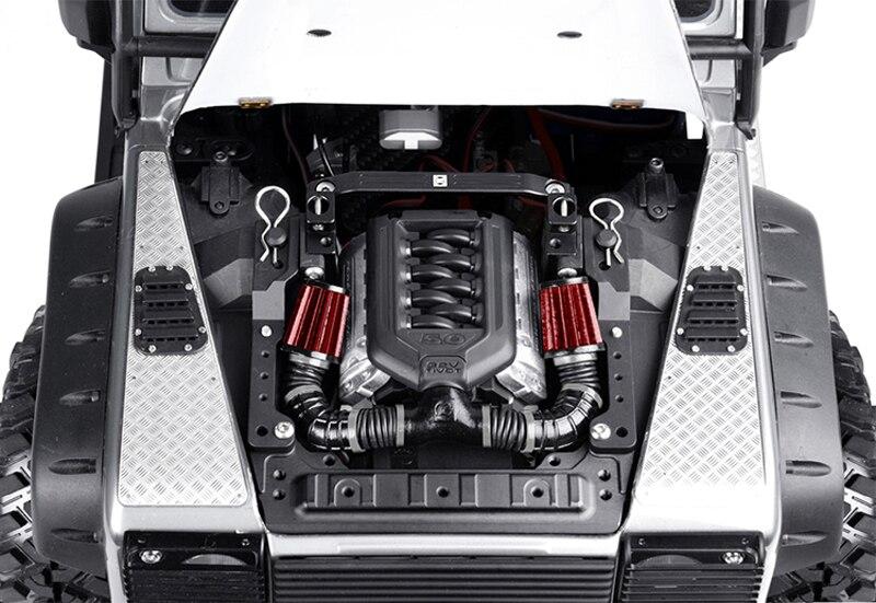 Купить 1 компл  TRX4 крышка двигателя кронштейн комплект R