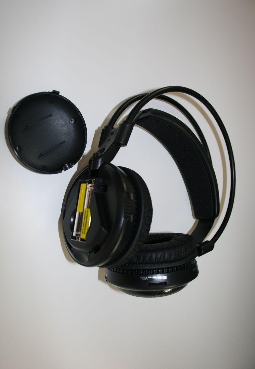 Ultra low bass Silent disco Wireless earphone RF Silent Disco headphone For iPod MP3 DJ music party club 17