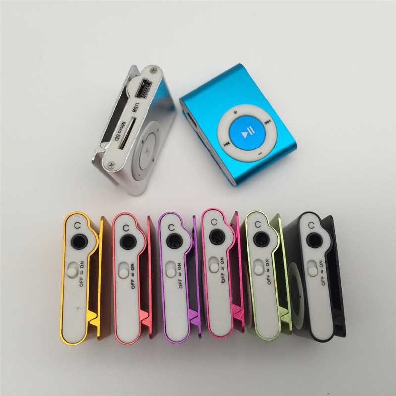 جديد 2019 مشغل MP3 مرآة أنيقة محمول مشبك صغير مشغل MP3 وكمان الرياضة مشغل موسيقى Mp3 دروبشيبينغ