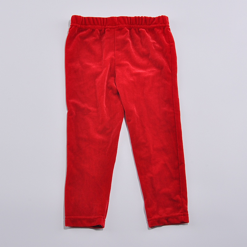 a08751ed69448 Aliexpress.com : Buy Red Velvet Kids Christmas Girls' Pants Trousers Baby  Girls Leggings Fantasia Infantil Cheap Girls Clothes Children Clothing from  ...