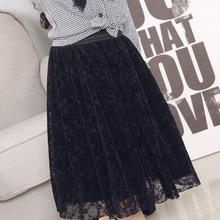 DFXD Kids Girl Clothes 2018 Spring Summer Toddler Girls Skirts Black Lace Ne Yarn Princess Tutu Children Fashion Skirt