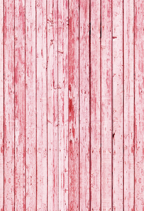5X7ft Art Fabric Printed Vintage Pink wood fence ... Pink Wood Background Pattern