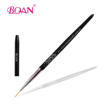 2015 BQAN Factoy Direct Delicate curved Heart-shaped Diamond Liner Brush for Nail Beauty  1 Piece 3#