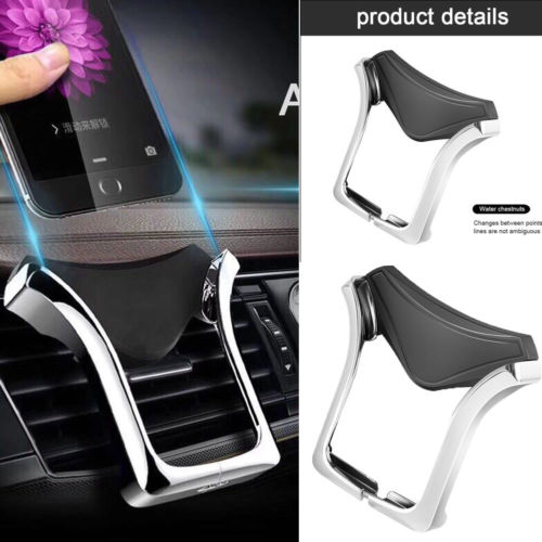 Gravity Car Air Vent Mount Cradle Holder Stand for iPhone Mobile Cell Phone