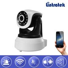 hot deal buy lintratek new wifi ip surveillance camera hd 720p wi-fi security mini cctv camera ptz onvif p2p home camera baby monitor indoor
