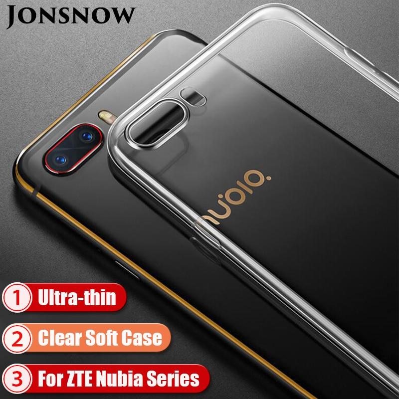 Clear Silicone Case For ZTE Nubia Z17 Lite Soft Case For ZTE Nubia M2 Phone Cover For ZTE Z11 Mini S/ M2 Lite TPU Case Capa