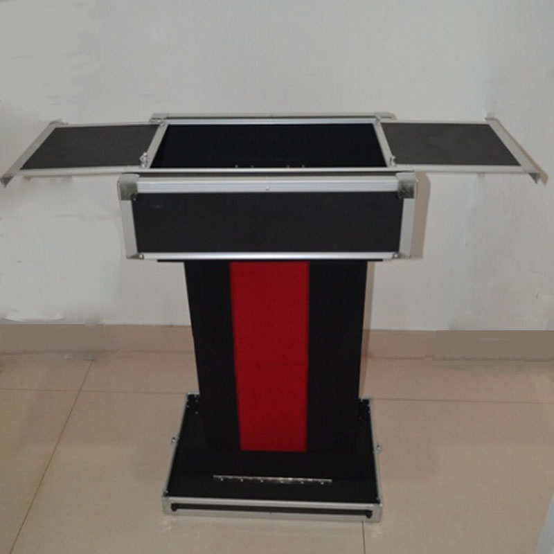 Carrying Case & Fold-up Table Base Folding Table Magic Tricks Professional Magician Table Stage Illusions Gimmick Accessories alluminum alloy magic folding table red poker table easy to carry for magicians stage magic tricks magie accessories gimmick