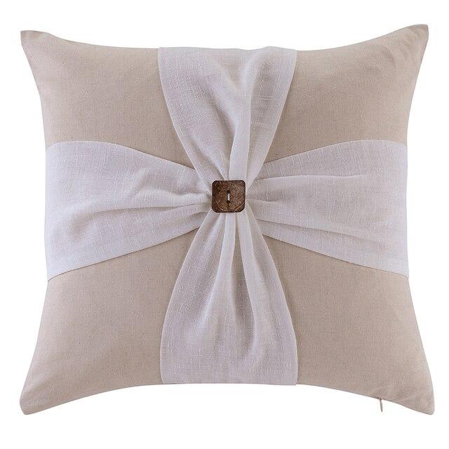 Modern Sofa Cushions Handwork Cushion Solid 45x45cm Home Pillow Decoration Almofadas Throw Free Shipping