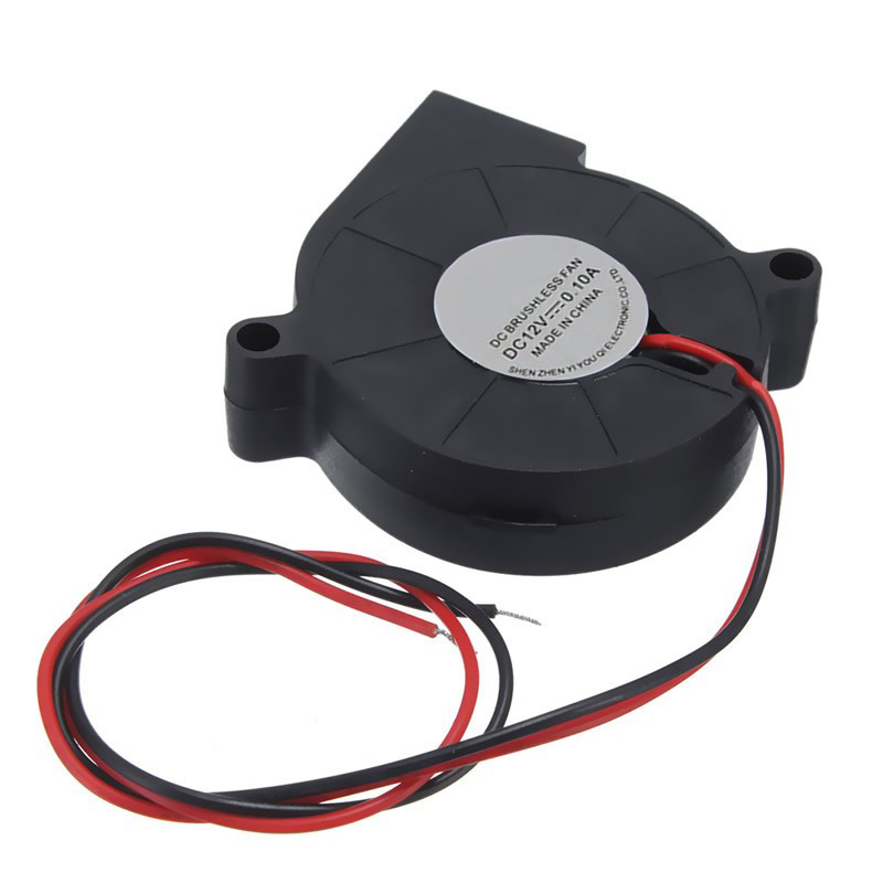 Centechia Electronic 3D Printer  12V 50mm Blow Radial Cooling Fan ball bearing low noise 3D Printer Parts Accessories original delta afb0912shf 9032 9cm 12v 0 90a dual ball bearing cooling fan