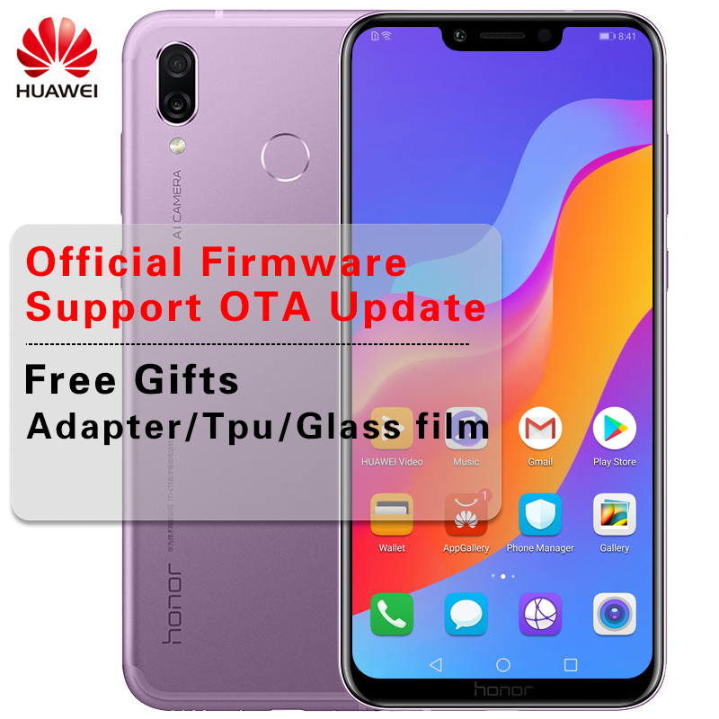HUAWEI honor Play 6.3 inch Kirin 970 Octa Core Android 8.1 Cellphone 2340×1080 Quick Charger 9V/2A 16.0MP Camera Fingerprint