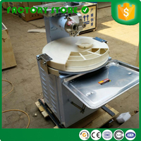 Small size hot sale commercial home manual dough divider and rounder pizza dough rolling machine for sale