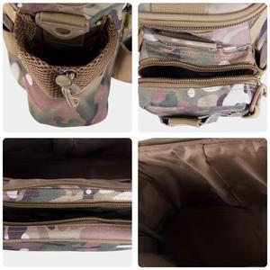 Image 5 - Multifunctional Shoulder Bag Fishing Gear Fishing Bag Waterproof Bag Outdoor Tactical Mountaineering Backpack Portable nylon