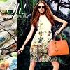 Chinese Style Wide Eucken Yarn Silk Formal Dress Fabric Hard