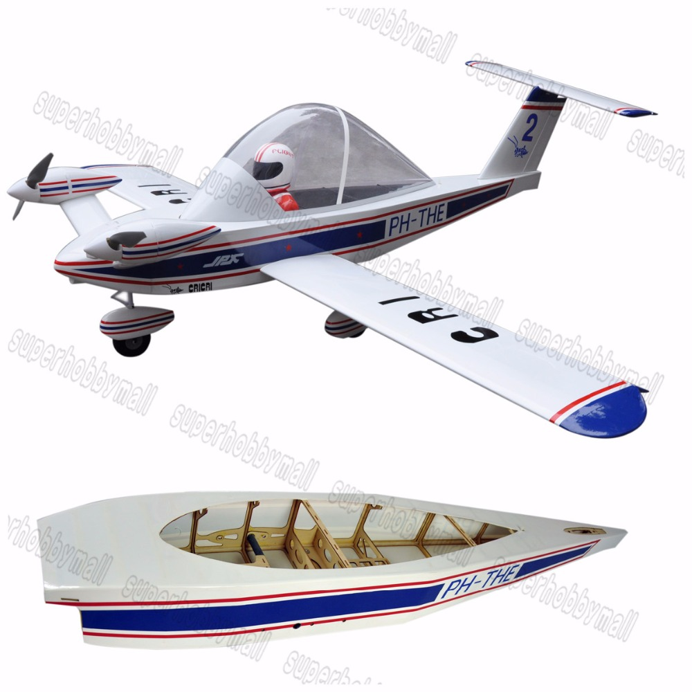 Electric plane CRI-CRI 70 6 Channels ARF Large Scale Balsa Wood RC Airplane Model image