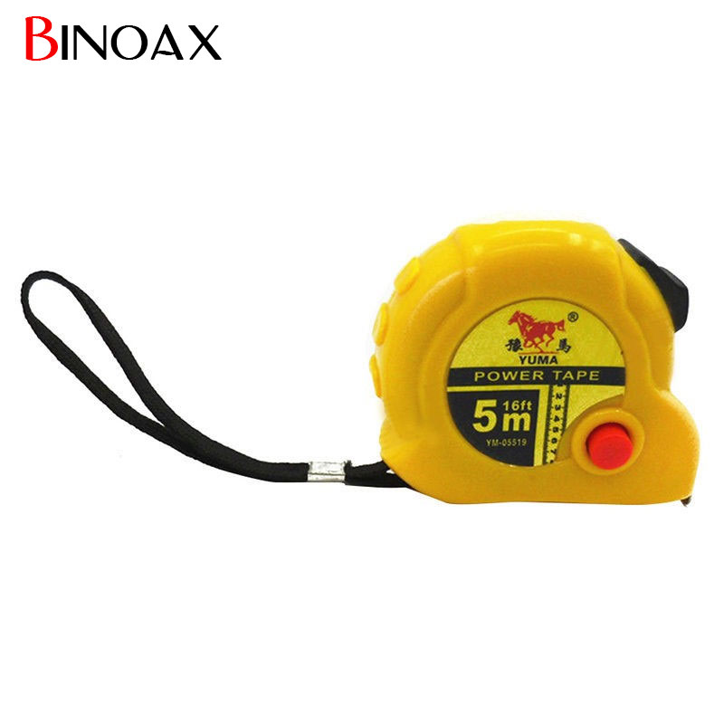 Binoax 5M Retractable Ruler Tape Measure Sewing Cloth Metric Tailor Tool #P00333# free delivery level 24 in lightweight hard plastic 3 bubble triple ruler measure tool