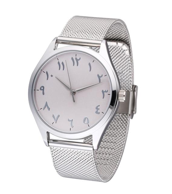 Fashion Unique Arabic Numbers Watches Casual Women Men Quartz Wristwatches Clock