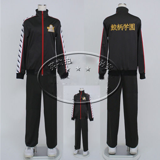 Free!-Iwatobi Club Rin Matsuoka Cosplay Costume Uniform Outfit Free Shipping