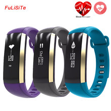 M2 Blood pressure Smart Bracelet Wrist Watch Pulse Meter Monitor Cardiaco Waterproof Fitness Smart band For android ios Phone(China)